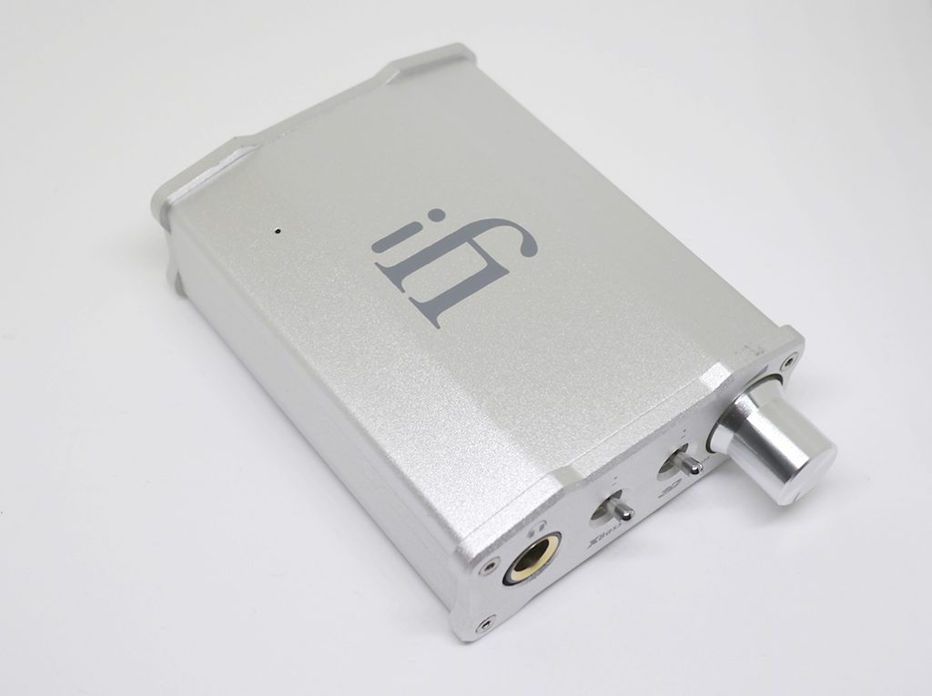 iFI Audio ヘッドホンアンプ<br>DAC iFI nano iCAN